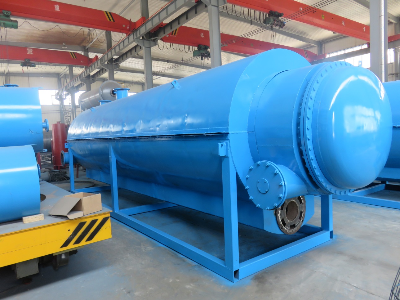 Fully continuous waste tyre recycle pyrolysis plant - Waste