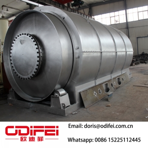 Waste tyre Making fuel oil equipment