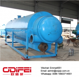 China 50 Ton waste motor oil distillation equipment factory