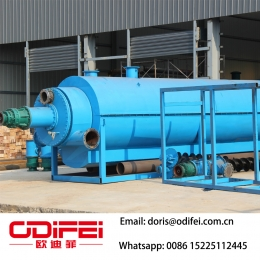 Continuous waste plastic pyrolysis oil equipment factory