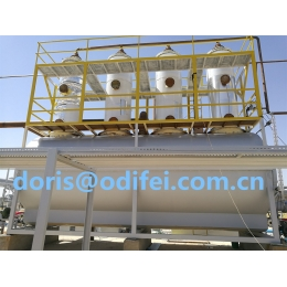 Crude oil distillation diesel oil equipment