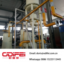 Chine High grade used cooking oil refining machine usine