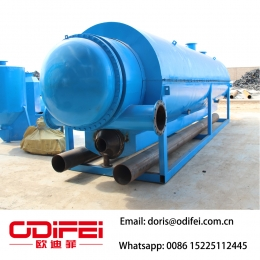 China ODF  pyrolysis plant manufacture factory