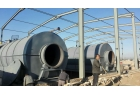 50 tons batch type waste tire pyrolysis plant factory