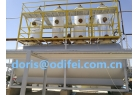 50 tons heavy fuel oil distillation equipment instillation