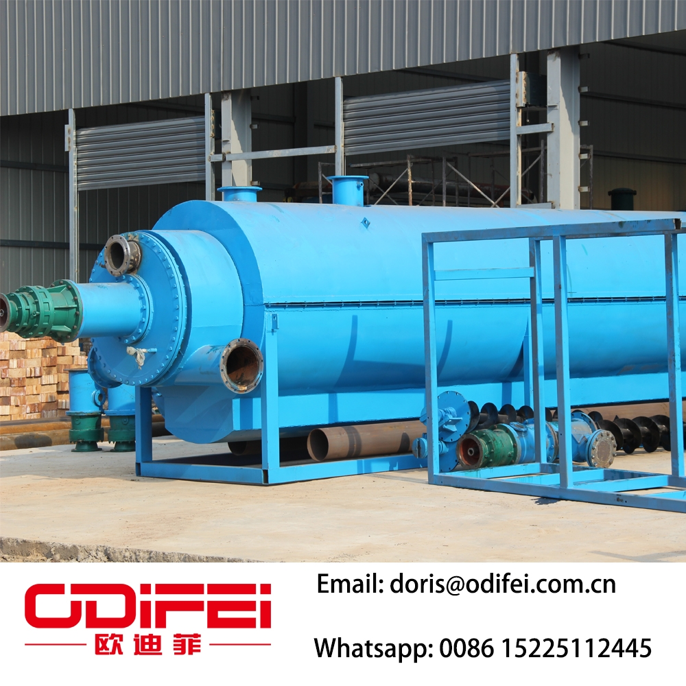 Waste plastic pyrolysis oil equipment factory - Waste oil to
