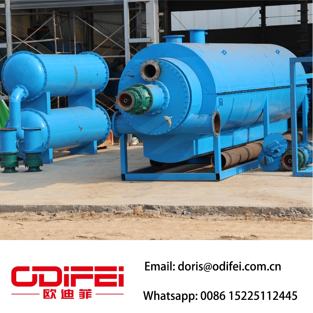 Waste plastic pyrolysis oil equipment factory - Waste oil to diesel